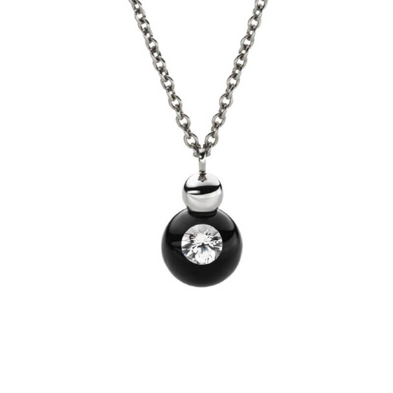 Schmuckwerk Collier - In Silber mit Diamant