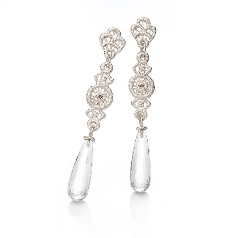 Brigitte Adolph Jewellery Design - Ohrringe in Silber mit Anhänger