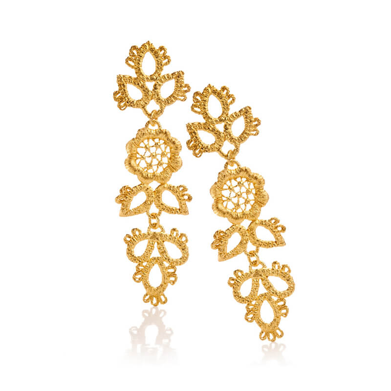Brigitte Adolph Jewellery Design - Ohrring in Gold