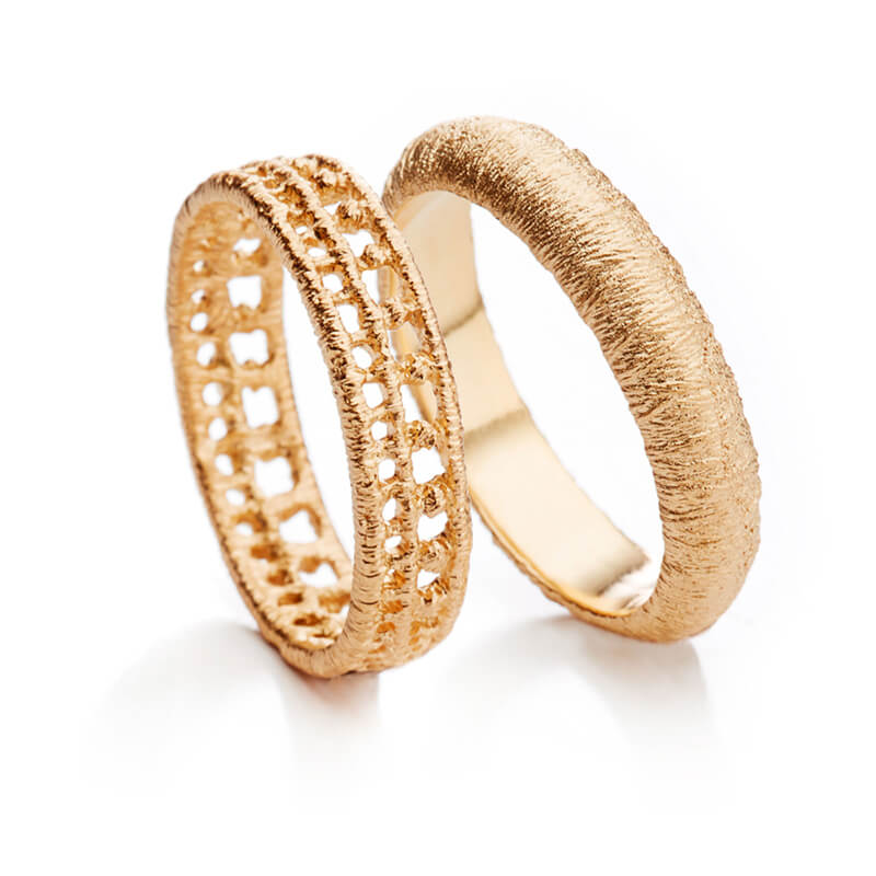 "Brigitte Adolph Design - Ring ""Othello"" in Roségold"
